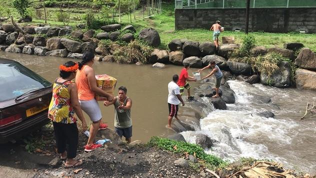 Solidarité pour les sinistrés de Tahiti