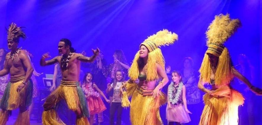 Soirée Tahiti réussi, Le petit bleu.