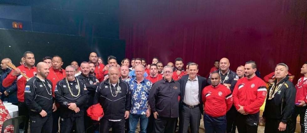 Le XV du Pacifique rencontre les Amis de Tahiti, Le Sud Ouest